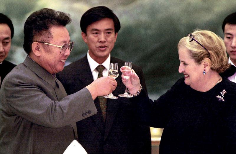 Resultado de imagen para Madeleine Albright. en corea del norte