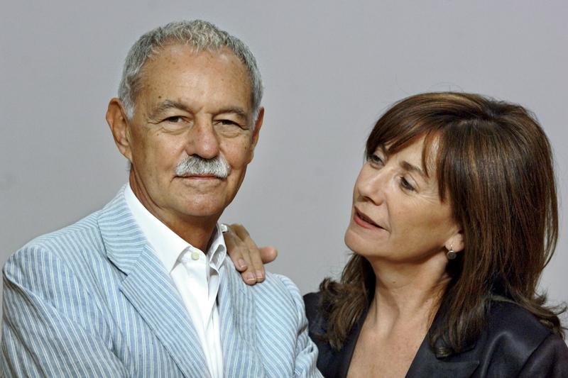 Eduado Mendoza y Rosa Novell