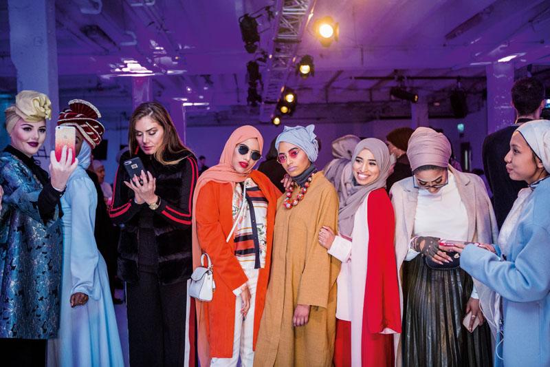 moda musulmana, hiyabistas
