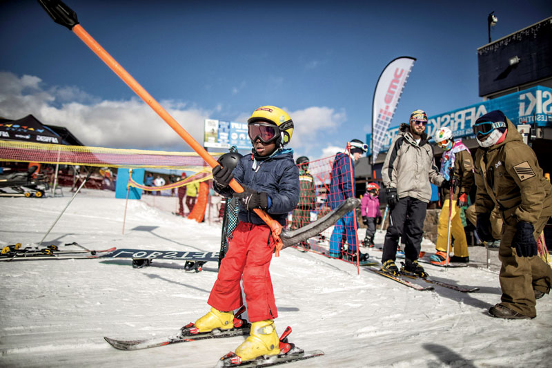 esquiar el africa, lesoto