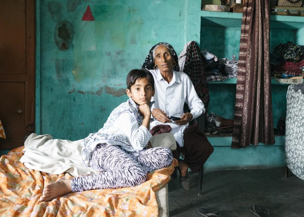 Madres a los 70 en la India