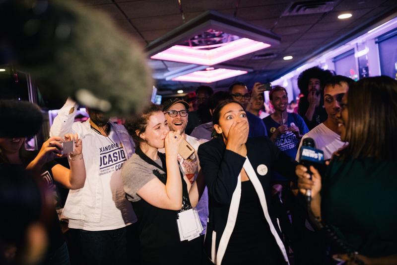 Alexandria Ocasio cortez candidata democrata congreso de eeuu