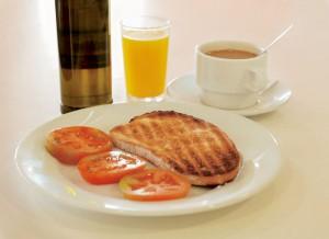Desayuno Alvaro Soler