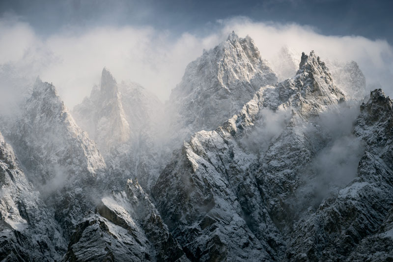 Reinhold Messner ochomiles, escalada
