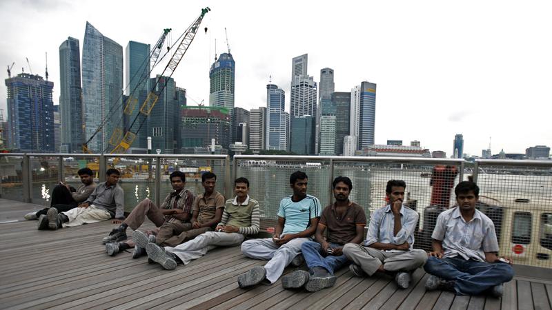 Singapur ricos