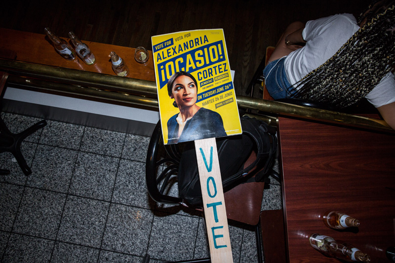 Alexandria Ocasio Cortez candidata partido democrata EEUU