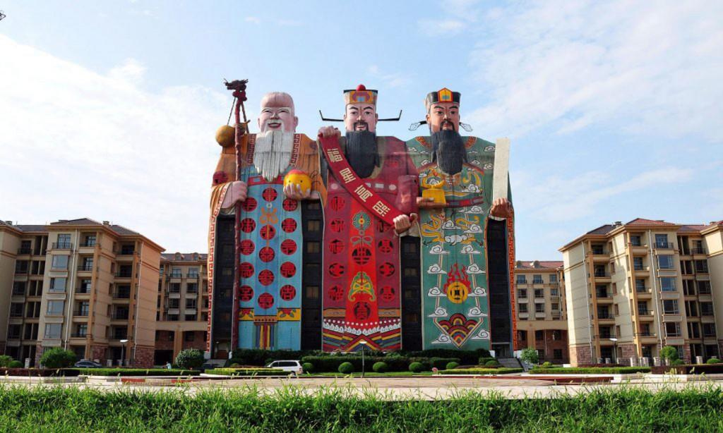 edificios raros china