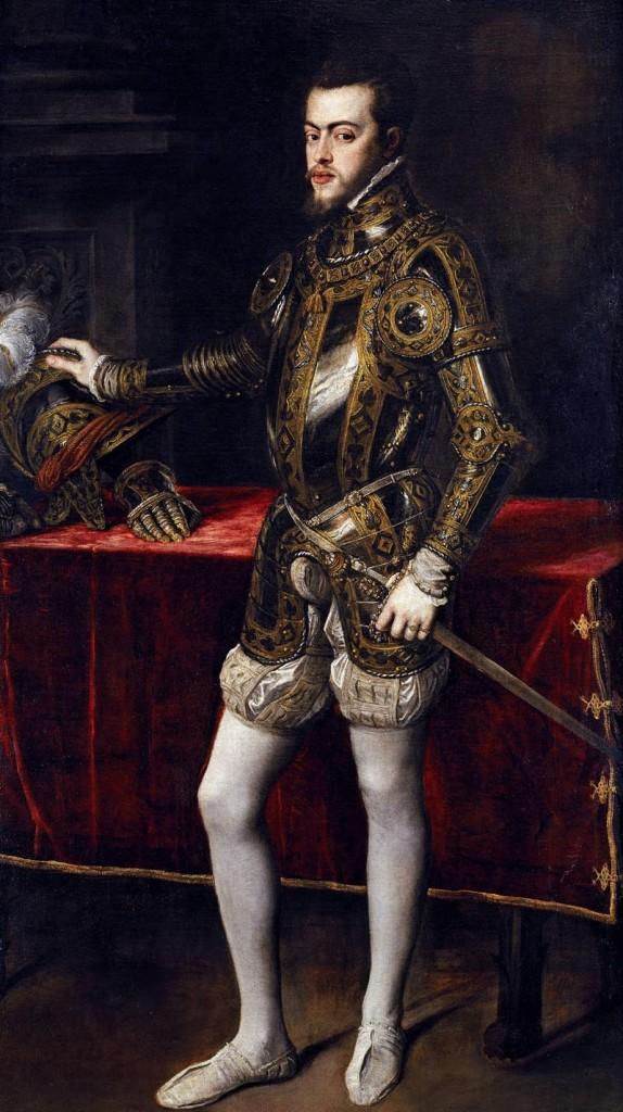 Armas de reyes Felipe II