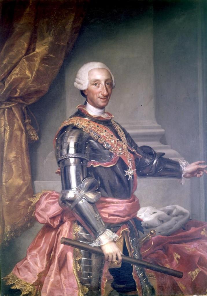 Armas de reyes Carlos III