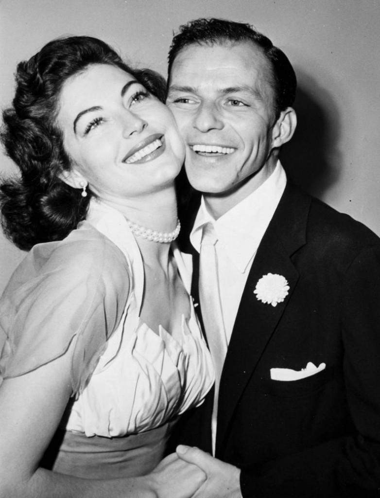 Ava Gardner y los hombres Frank Sinatra