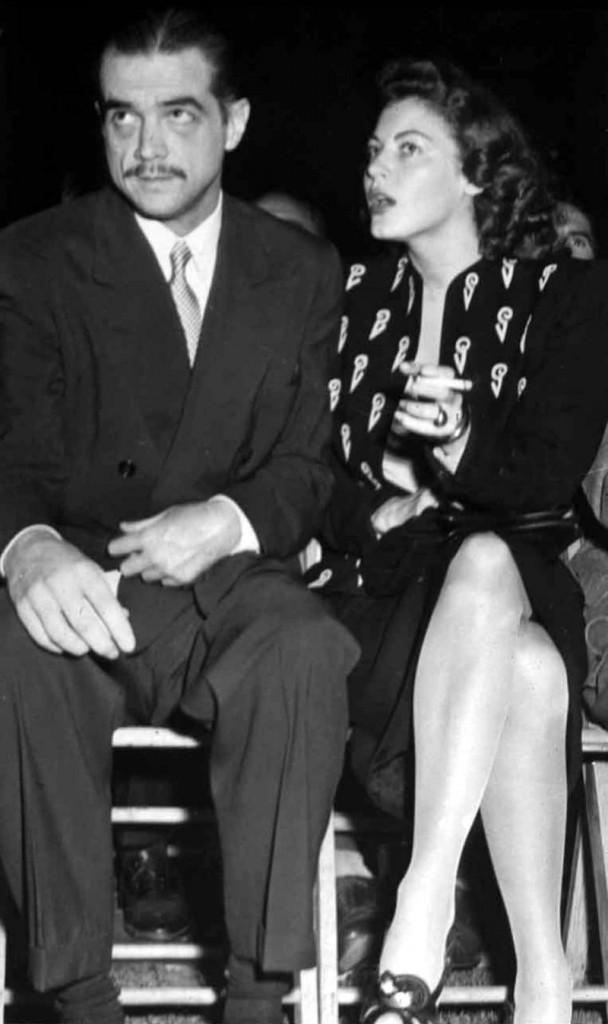 Ava Gardner y los hombres Howard Hughes