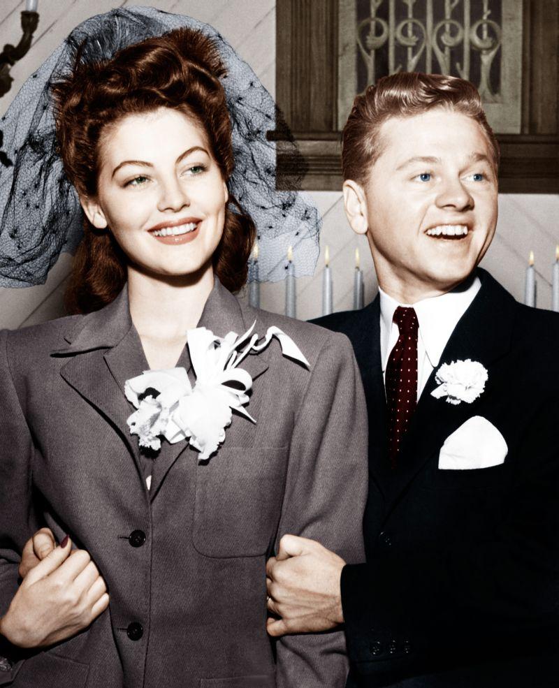 Ava Gardner y los hombres Mickey Rooney