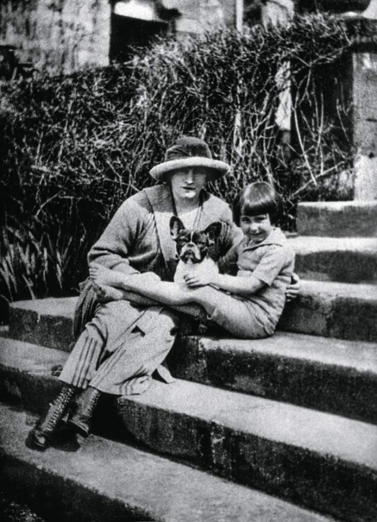 Colette y su madre