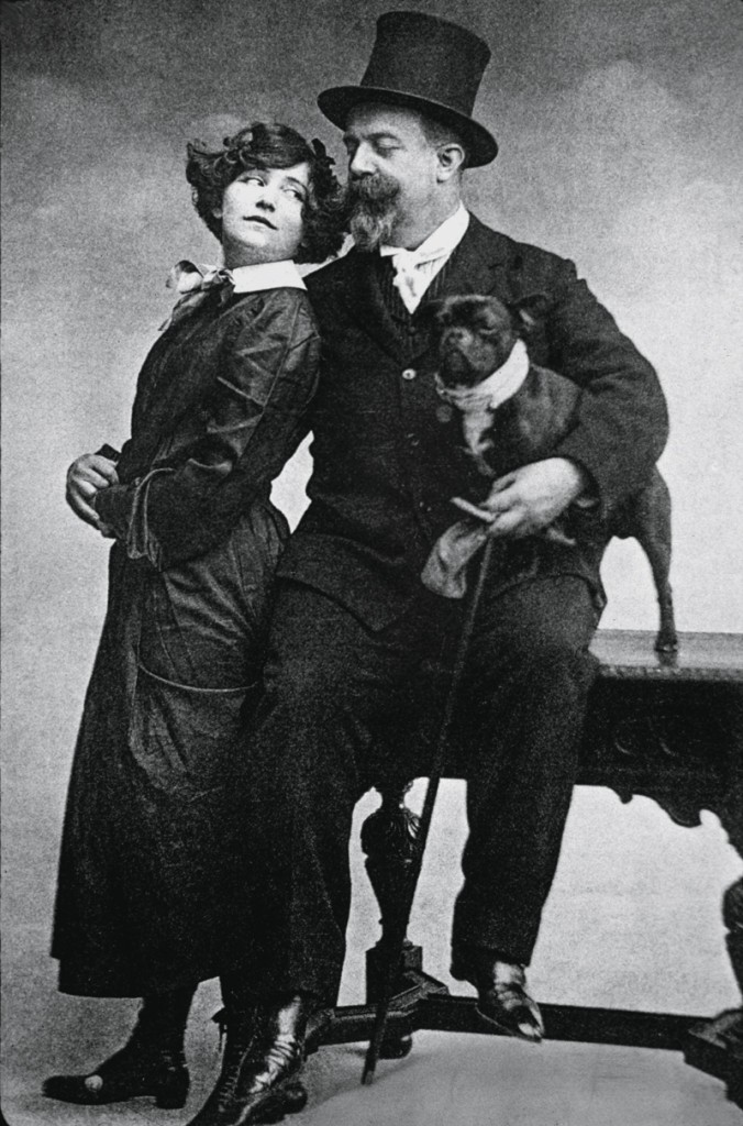 Colette y su marido Willy