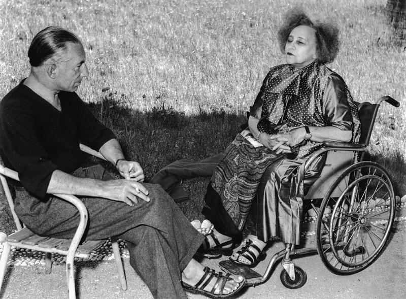 Colette en 1954