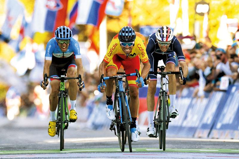 alejandro valverde ciclista campeon del mundo