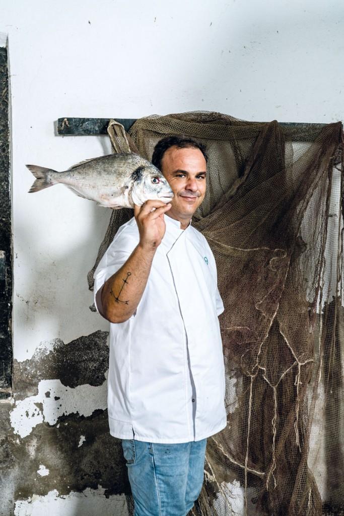 angel leon, el chef del mar