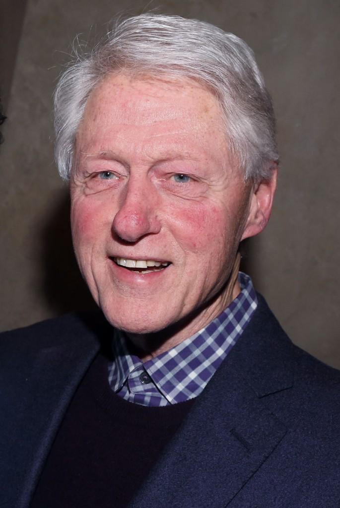 bill clinton tiene rosacea
