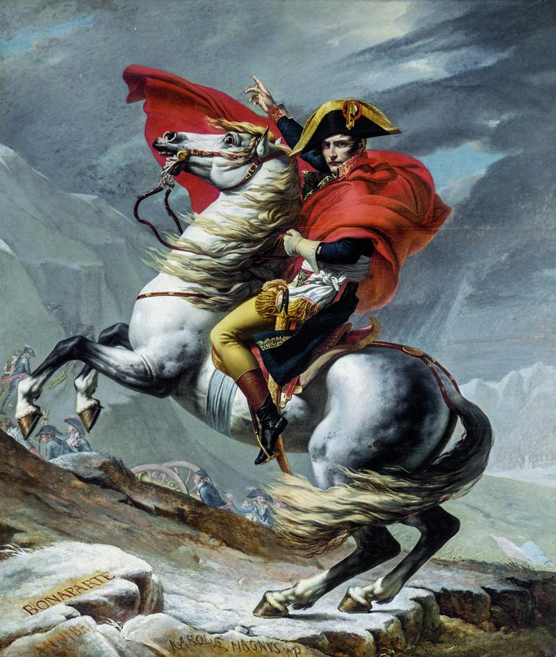 historia del caballo napoleon