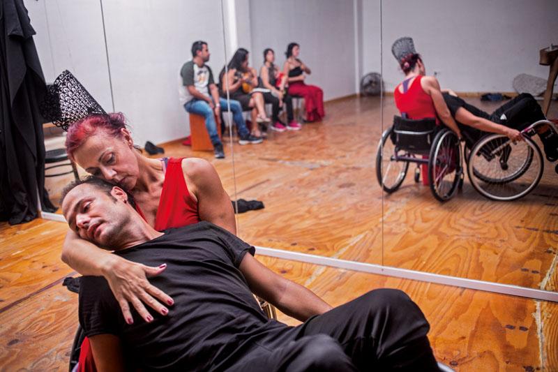 flamenco para personas con discapacidad