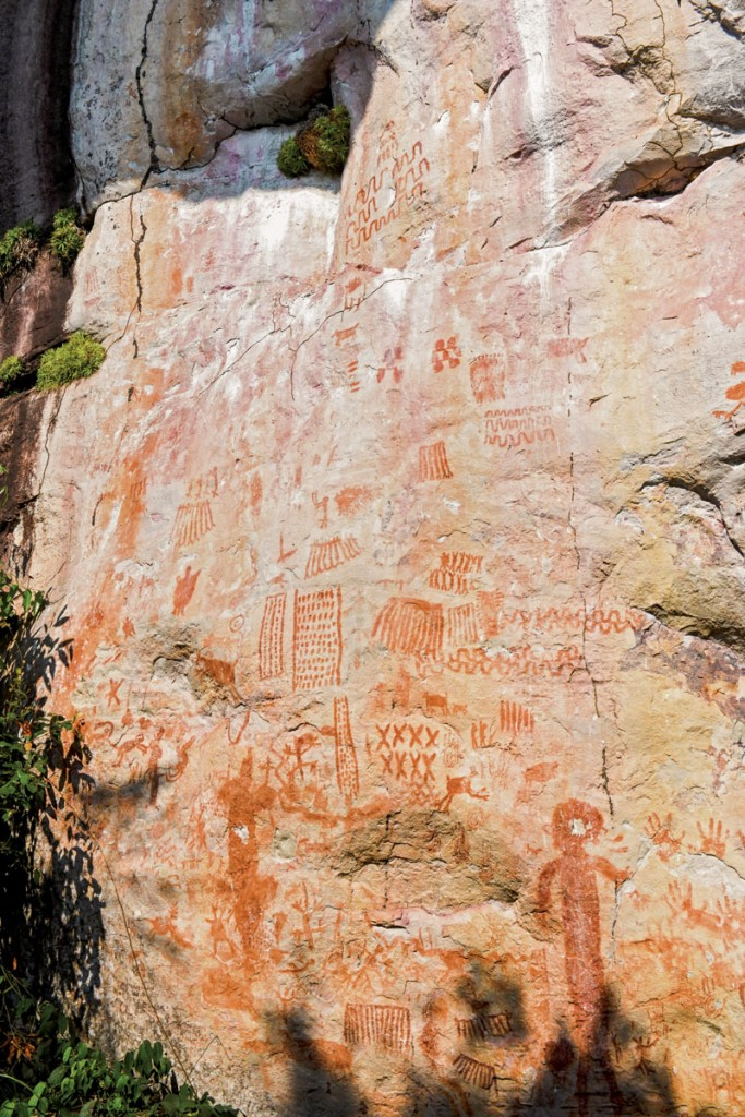 pinturas rupestres en colombia