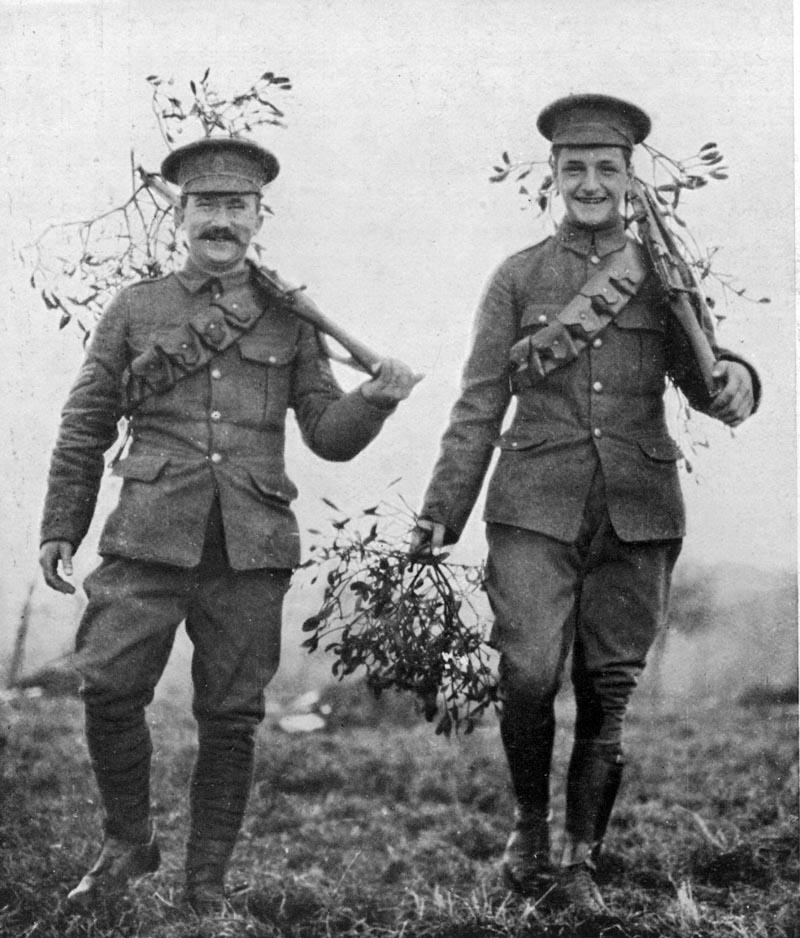 Primera Guerra Mundial tregua Navidad