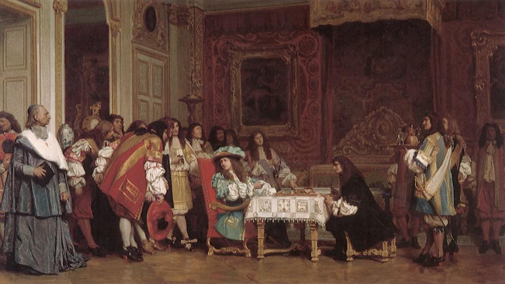 rey Luis XIV cambio la gastronomia