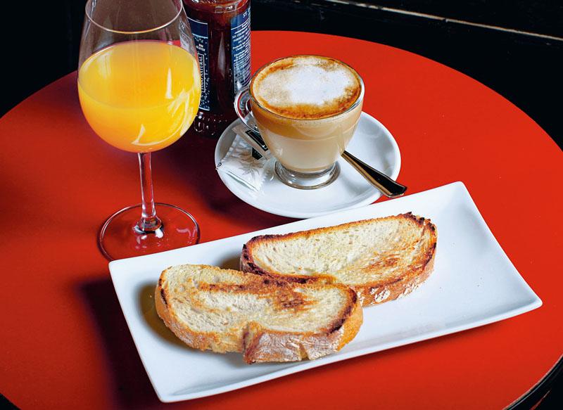 Desayuno Solea Morente