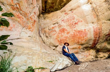 Colombia : the fresco of rock paintings in Amazonia