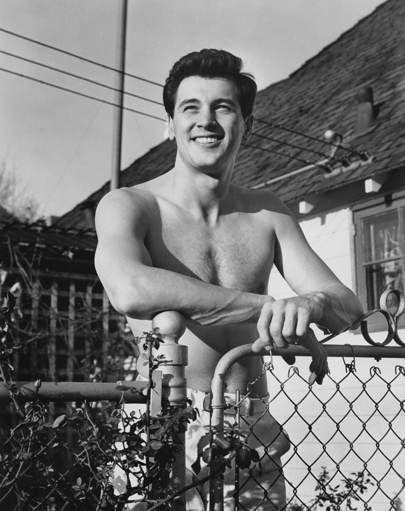 May 24, 2017 - Actor Rock Hudson, Universal Pictures Shirtless Publicity Portrait, 1951 (Credit Image: © Jt Vintage/Glasshouse via ZUMA Wire)
