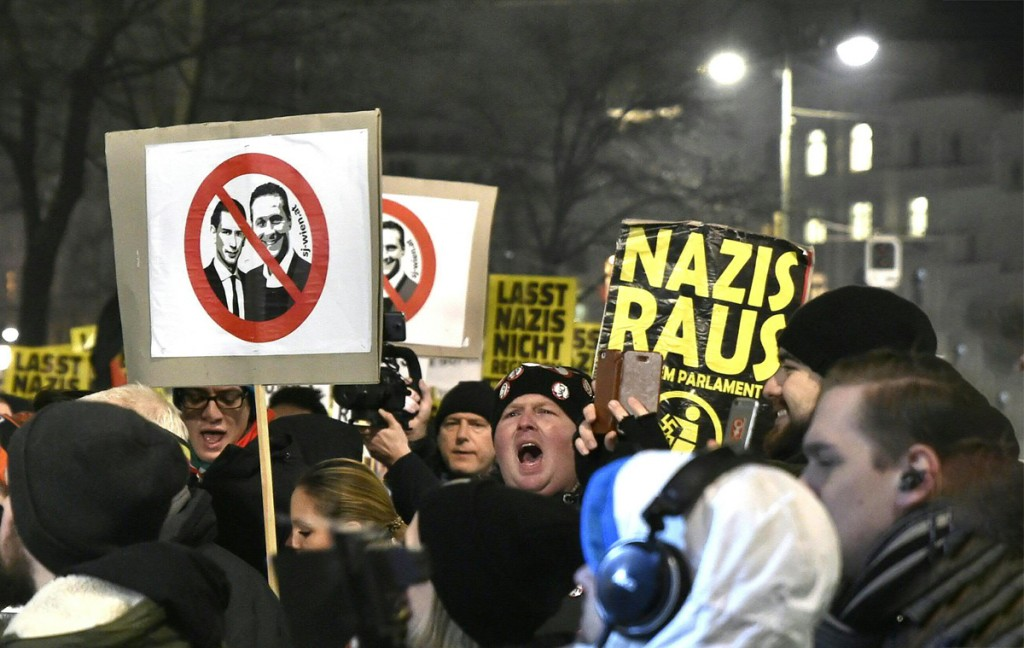 ultraderecha en Europa Austria