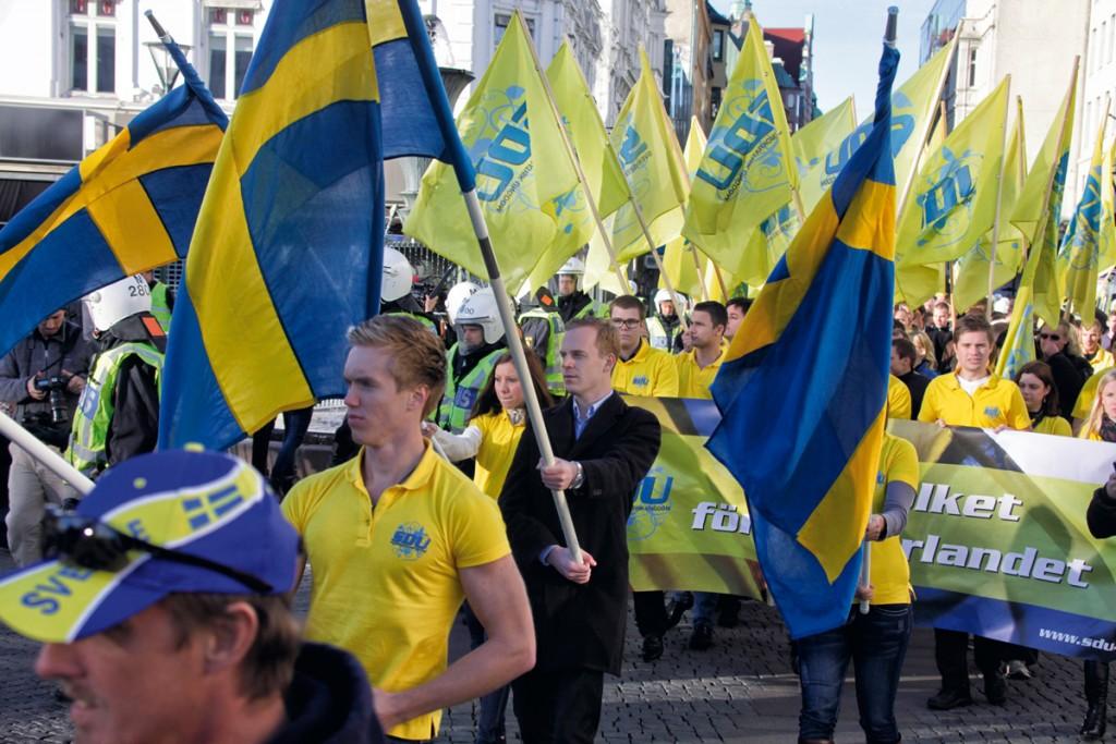ultraderecha en Europa suecia
