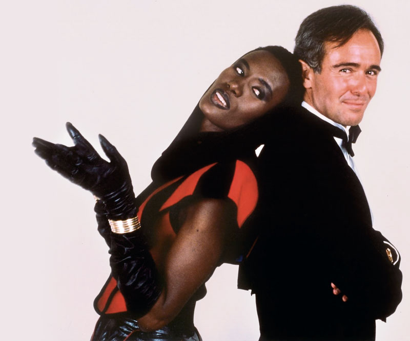 roberto polo y grace jones
