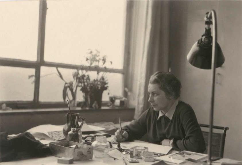 Bauhaus taller textil Gunta Stolz