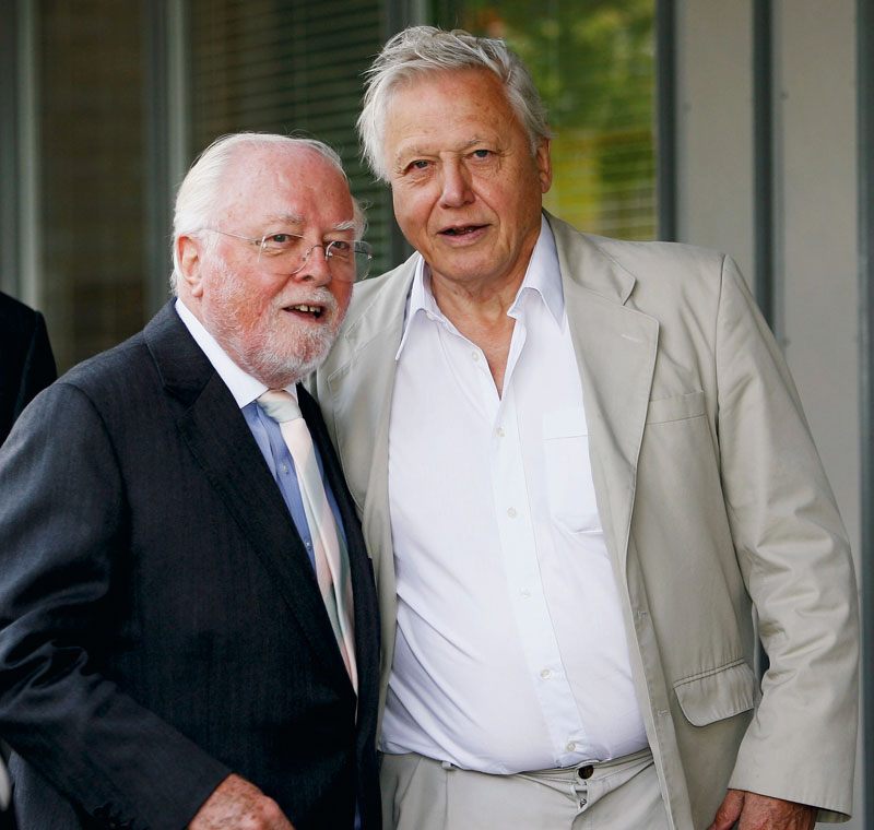 Attenborough Brothers Awarded Honorary Degree At Leicester University
