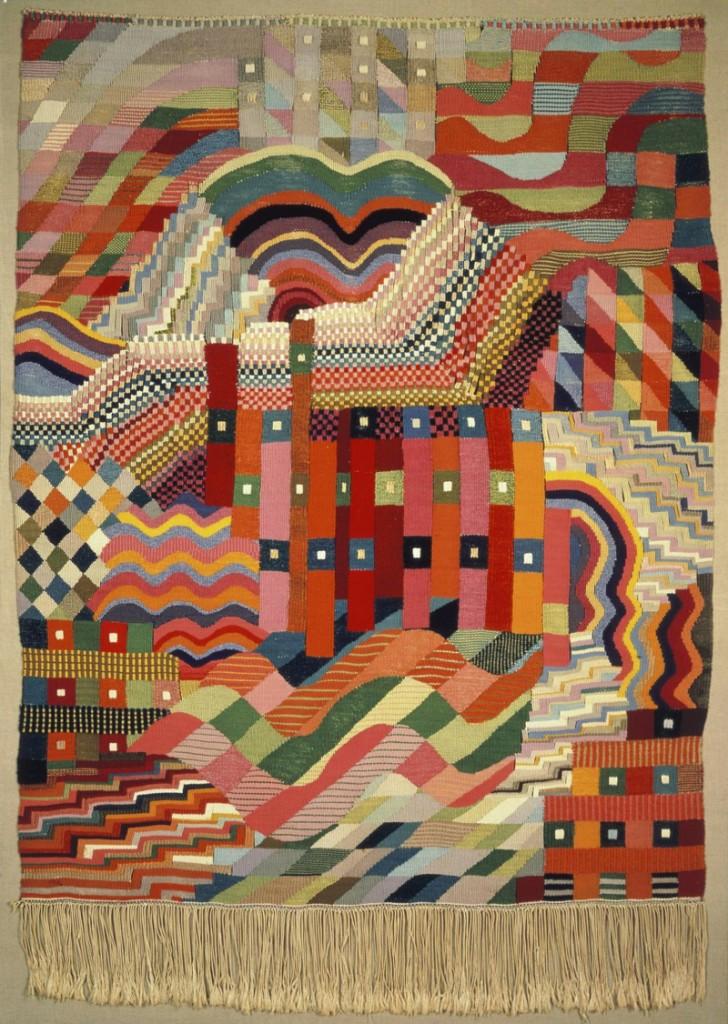 Tapiz Bauhaus taller textil Gunta Stolz