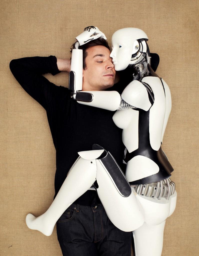 Jimmy Fallon robot