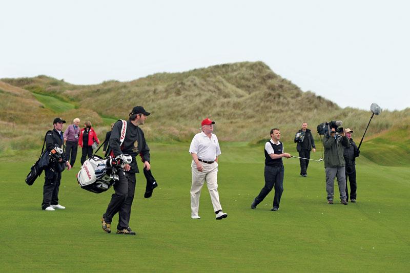 trump golf trampas y estrategias