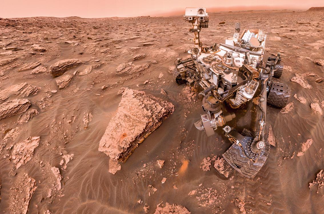 Más indicios de vida en Marte