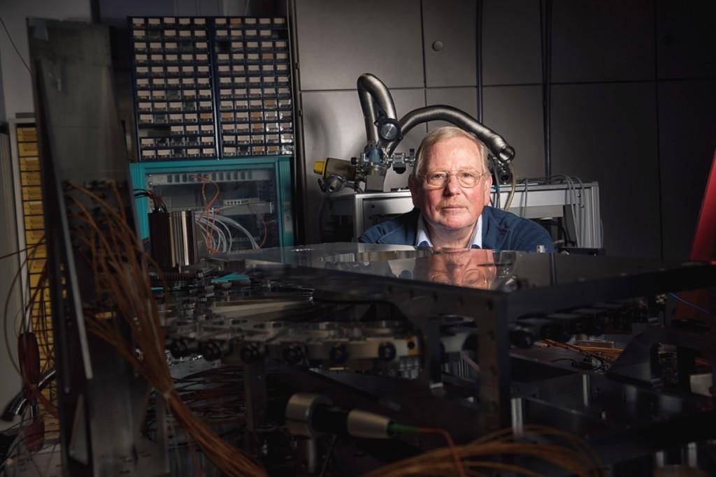 Prof. Dr. Reinhard Genzel, Max Planck Institute for Extraterrestrial Physics.
