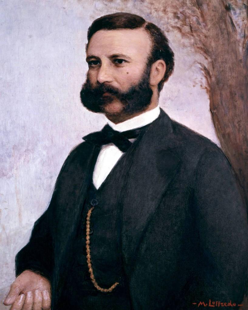 Henry Dunant, peinture de Loffredo
