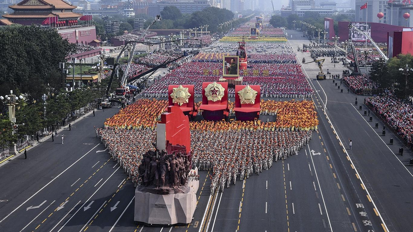 China celebra 70 años de régimen comunista