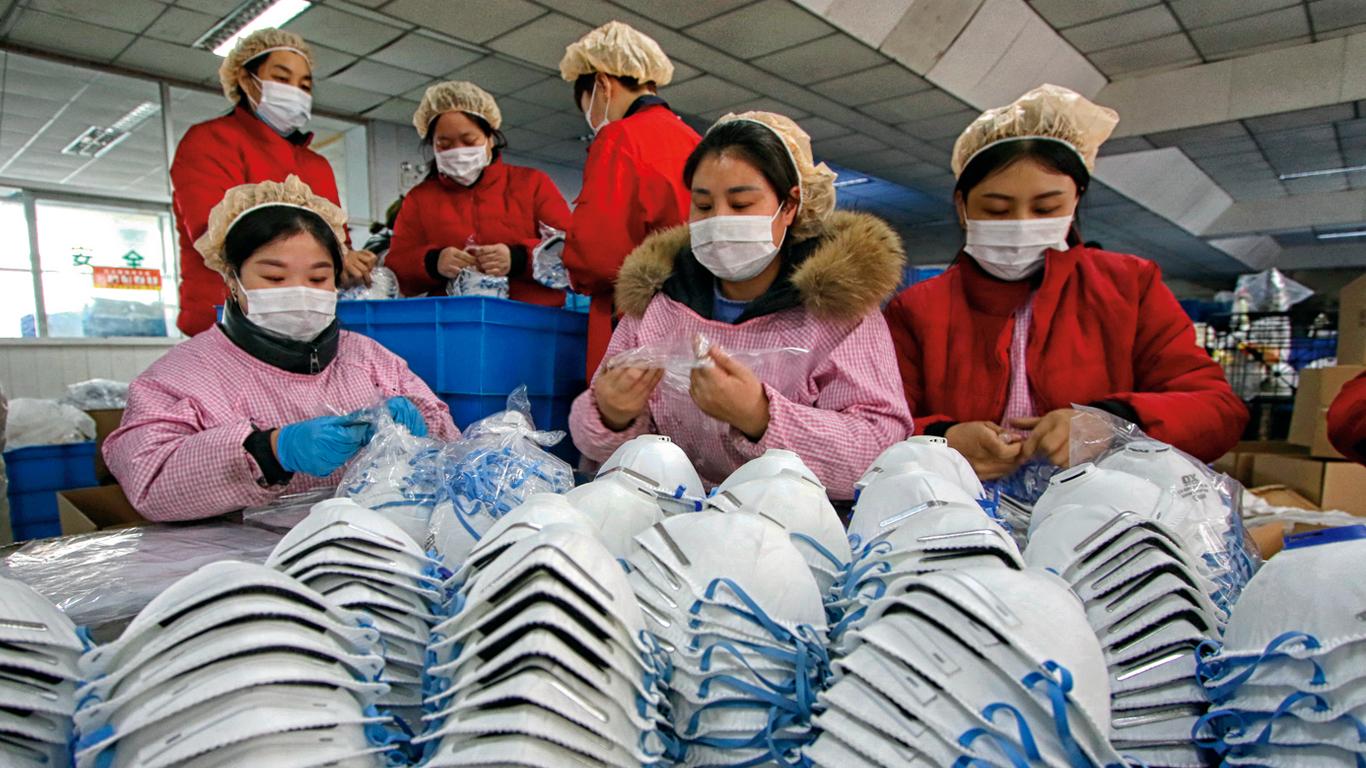 Coronavirus y el negocio de las mascarillas