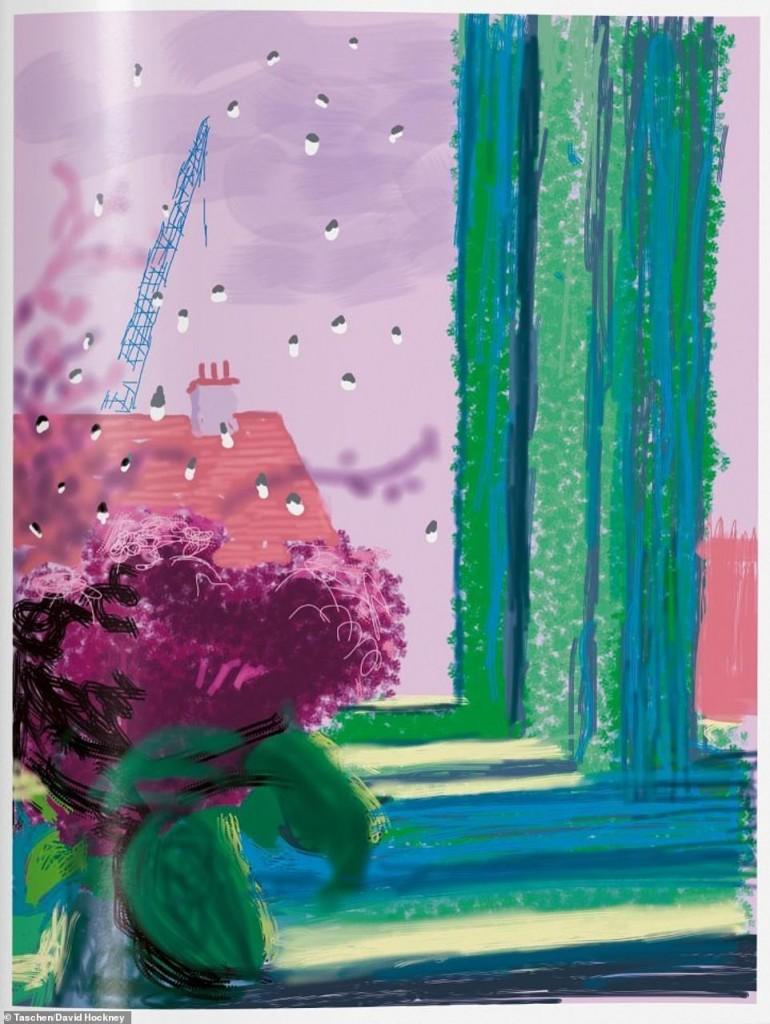 """David Hockney: """"Les haría un corte de mangas a todos los que dicen que el mundo se está yendo al garete"""" 5"""