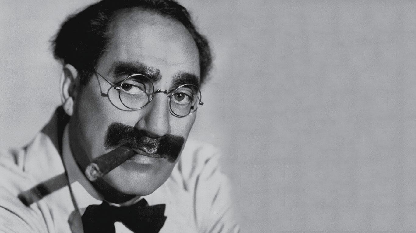 Groucho Marx, la cara oculta del genio del humor