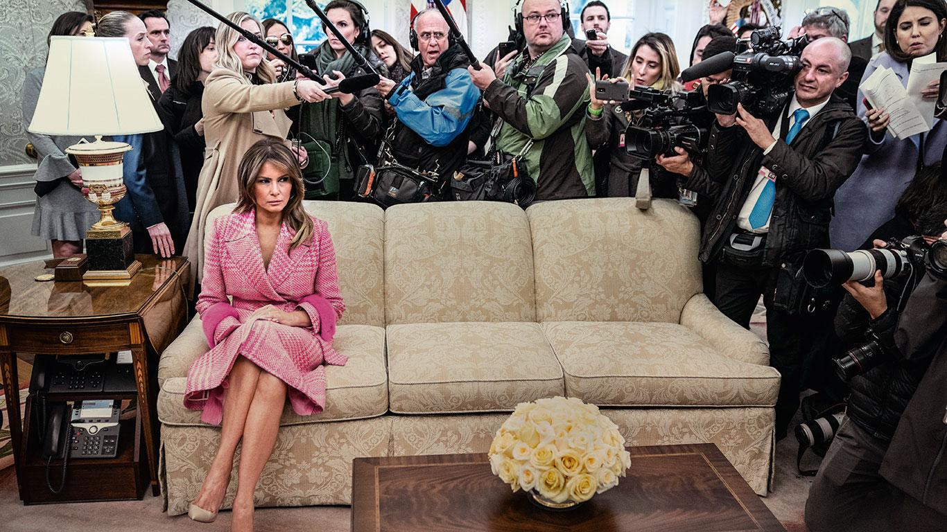 "Melania Trump: ""Si te enfrentas a ella, te la juegas. Te corta la cabeza"""