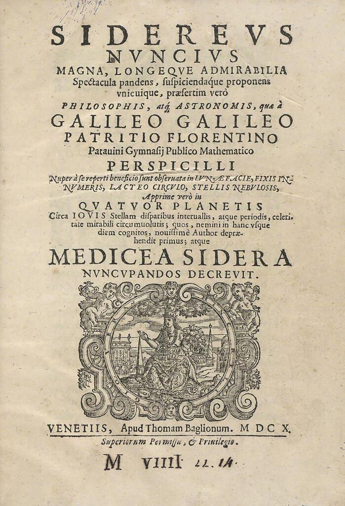 El escándalo del 'Sidereus Nuncius': el enigma de los documentos de Galileo desaparecidos